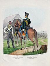 Prussia Militare Uniforme Kürassier Husar Harnisch Raupenhelm Constable Attila