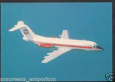 Aviation Postcard - Fokker F28 Mk3000 Cimber Air Denmark Aeroplane  H121