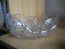 BEAUTIFUL CRYSTAL FRUIT BOWL