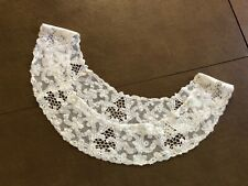 Antique Handmade Brussels Lace