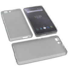 Case for Doogee X5 Cell Phone Pocket Cases TPU Rubber Case Grey