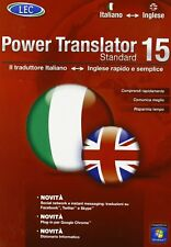 LEC POWER TRANSLATOR 15 STANDARD ITALIANO-INGLESE nuovo