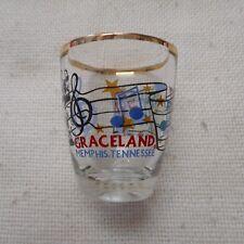 "NEW ""Graceland"" ELVIS PRESLEY Glass Shotglass"