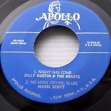 APOLLO R&B 45 ep repro Billy AUSTIN Mabel SCOTT Eddie BOYD Clarence BROWN bb2793