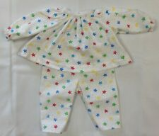 2 Piece Star Print Pajama Set to fit Deluxe Reading Baby Boo Doll