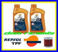 Kit Tagliando SUZUKI DRZ 400 04>05 Filtro Olio REPSOL 10W40 DR-Z E S 2004 2005