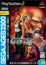 Used PS2 Sega Ages Vol. 26 Dynamite Deka Japan Import、