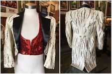 Casino Movie Memorabilia Custom Made Magician Jacket with Tails Sequins Costume
