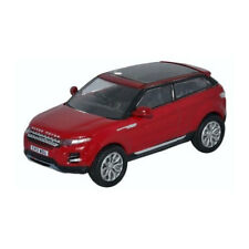 Oxford 213911 Land Rover Range Evoque rouge échelle 1:76 Maquette de voiture ! °