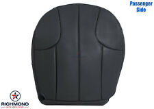 1999-2001 Jeep Grand Cherokee Laredo -Passenger Bottom Leather Seat Cover Black