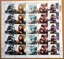 Harry Potter Postage Stamps UK 1st day issue 16/10/2018 - uncut - sheet series 2