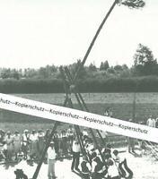 Bad Windsheim - Kirchweihbaum-Stellen - Brauchtum - um 1970        W 30-3
