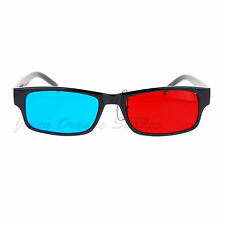Black Anaglyphic 3D Glasses Red Blue Cyan Stereoscopic Motion/Picture
