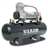 Viair 20007 Heavy Duty 12v 200PSI Air System with 380C Pewter Compressor