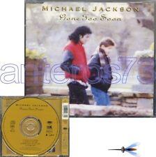 "MICHAEL JACKSON ""GONE TOO SOON"" CD MAXI 1993 4TRACKS"