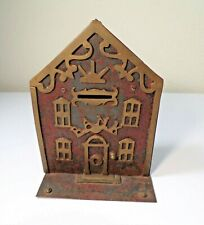 New ListingRare Antique Victorian Painted Cast Iron Building Still Bank
