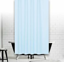 Rideau de douche en tissu bleu clair 240 x 180 incl. anneaux !