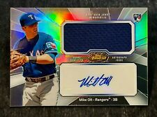 2013 Topps Finest ROOKIE AUTO GAME USED JERSEY Mike Olt