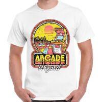 Arcade Wizard 80s Game Tee Top Vintage Super Cool Unisex Ladies T Shirt 698