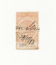 SOUTH AUSTRALIA 1886 15S BROWNISH YELLOW SG198  USED Pan Cancel 1893