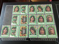 Charlie's Angels , 1977, Collector Cards , Lot of 61, Farrah , Jaclyn , Sabrina