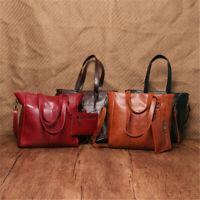 Women Leather Handbag Shoulder Lady Casual Shopper Messenger Bag Purse Fashion