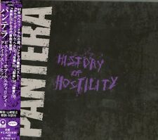 PANTERA-HISTORY OF HOSTLITY-JAPAN CD F30