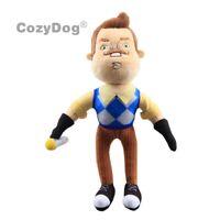 Hello Neighbor Plush Toy Butcher Flashlight Neighbor Plush Figure Stuffed Doll