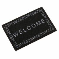 Doll House Miniature carpet WELCOME Mat Dollhouse Accessories Home & Living O2L1