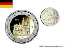 2 Euros Commémorative Allemagne Lander Sachsen Anhalt 2021 UNC