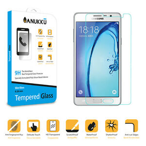 Real Tempered Glass Screen Protector Film Anukku For Samsung Galaxy On5