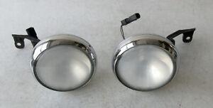 Genuine MINI Pair Chrome Front Spotlights for R56 R55 R57 & LCI R58 R59 0417670