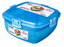 NEW Airtight Lunch Cube Container BPA Microwave Safe Store Box Salad 37Oz To Go