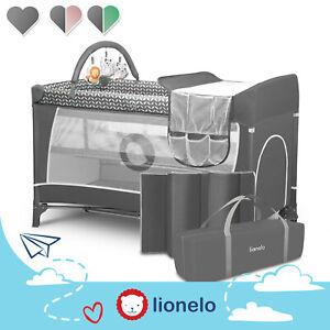 Lionelo Flower Kinderreisebett Reisebett Baby Laufstall klappbaren Spielbogen