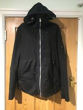Parajumpers Kegan Anchorage Black XL Hooded Jacket Softshell Lightweight