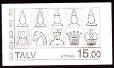 Färöer 1983 ** Mi.82/83 (MH 1) Kunst Art | Schachfiguren Chessmen | Boardgames