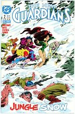 New Guardians #2 DC Comics 1988 - 1st appearance of Snowflame - High Grade