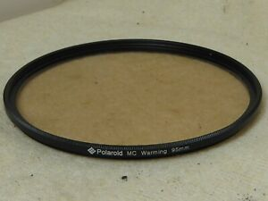 quality polaroid warming warm  95mm Screw on Filter unmarked