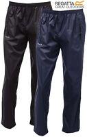 New Regatta 100% Waterproof Over Trousers Rain Fishing Hiking Size: S-3XL