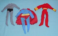 Mego World's Greatest Super-Heroes WGSH CLOTHES LOT #4 Batman Superman Shazam