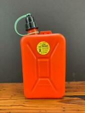 New listing Vintage Nos Admis Co 1 Quart Vented Gas Can w/ spout Made In W. Germany Camping