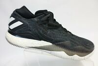 ADIDAS Crazylight Boost Low Black Sz 12.5 Men Basketball Shoes