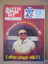 Autosprint n°7 1979  Enzo Ferrari [G586A]