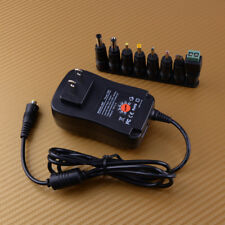 30W Universal Power Supply Netzteil Adapter Charger AC/DC 3V/4.5V/6V/7.5V/9V/12V