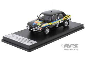 Saab 99 Turbo Blomqvist Rallye Schweden Swedish Rally 1979 1:43 Trofeu DSN04 NEU