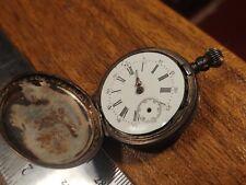 ladd K&L Rhode Islnd 1864-1868 .800 Coin silver pocket watch knowles