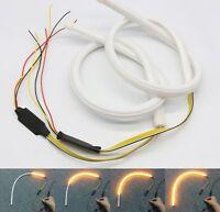2pcs 45cm LED Strip Lights Car Sequential Headlight Dynamic Turn Signal Lamp UK