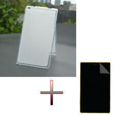 "AS TPU Gel Rubber Soft Case Cover + Film For 7"" Lenovo Tab3 7 Essential 710F/I"