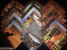 12x12 Scrapbook Paper Outdoors Colorbok 25 Lot Sportsman Hunting Fishing Camping