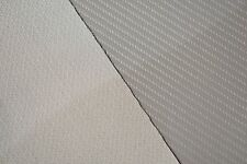 "Carbon Fiber Vinyl Lt.Gray Marine Outdoor Auto Fabric Boat Upholstery 54"" Wide"
